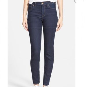 Madewell High Riser Skinny Jeans E0852 Size 26